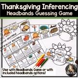 Thanksgiving Speech and Language Headbands Game Companion:
