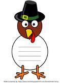 "Thanksgiving Turkey ""I am thankful for..."" decor, classroom door & more"