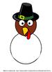 "Thanksgiving Turkey ""I am thankful for..."" decor, classroo"