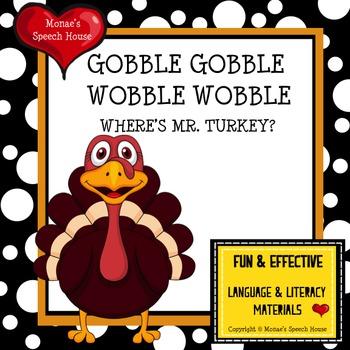 Thanksgiving Turkey Interactive PECS