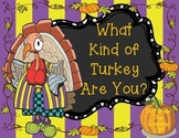 Thanksgiving Activities {Reading, Writing, Math, & Vocabulary}