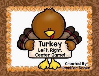 Thanksgiving Turkey LRC Game FREEBIE!