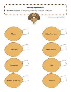Thanksgiving - Turkey Legs Language