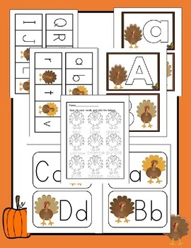 Thanksgiving Turkey Literacy Activities