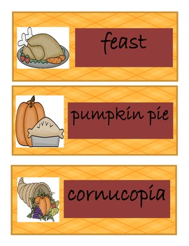 Thanksgiving Turkey Literacy and Math Centers
