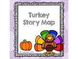 Thanksgiving Turkey Literature Story Map