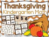Thanksgiving Activities for Kindergarten Math