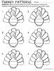 Thanksgiving Turkey - Math Center (Patterning)