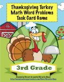 Thanksgiving Turkey Math Word Problems For 3rd Grade: Common Core Aligned