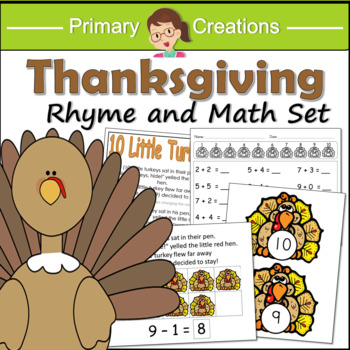 Thanksgiving Preschool and PreK Maths Activities