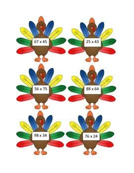 Thanksgiving Turkey Multiplication