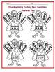 Thanksgiving Turkey Multiplication Fact Families