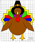Thanksgiving Turkey Mystery Picture