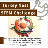 Thanksgiving Turkey Nest STEM Challenge Engineering Activity