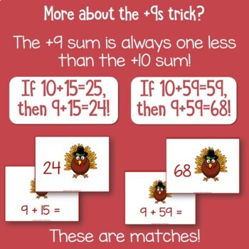 Don't be a Turkey   Game for Adding 9s