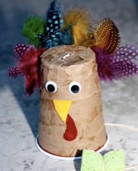 Thanksgiving Turkey Noisemaker!