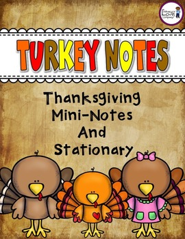 Thanksgiving Turkey Notes