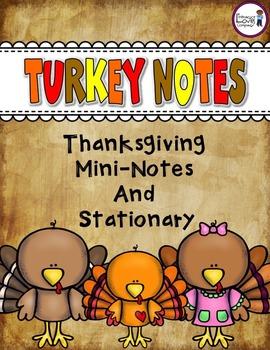 Thanksgiving Turkey Notes