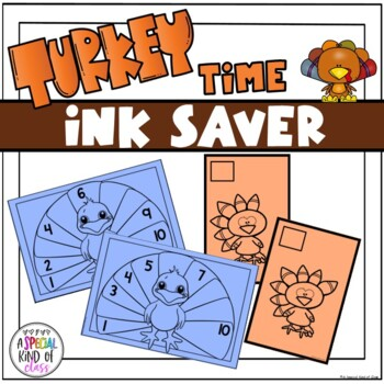 Thanksgiving Turkey Math - Numbers 1 to 10