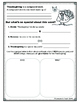 Thanksgiving Turkey Opinion Writing Packet (Color)