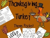 Thanksgiving & Turkey Activities 1st & 2nd Grades