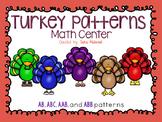 Thanksgiving Turkey Patterns Center