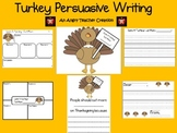 Thanksgiving Turkey Persuasive Writing