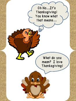 Thanksgiving Turkey Persuasive Writing Activity