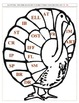 Thanksgiving Turkey Phonics Learning Center {Common Core C