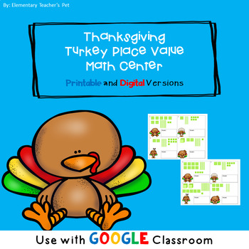 Thanksgiving Turkey Place Value Center