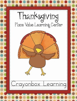 Thanksgiving Turkey Place Value