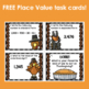 Thanksgiving Place Value Task Cards