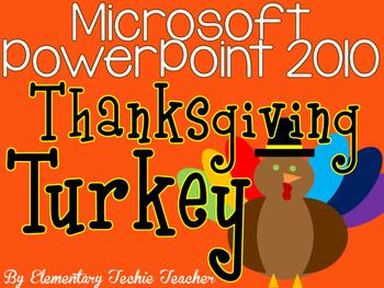 Thanksgiving Turkey PowerPoint Art