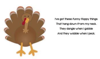 Thanksgiving Turkey Puzzle & Poem