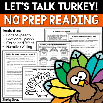 Thanksgiving Reading Packet - Print and Go!