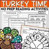 Thanksgiving Reading Activities No Prep