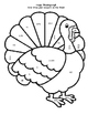 Thanksgiving Turkey Review - Fraction, Decimal, Percent