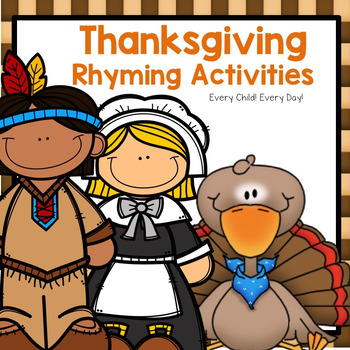 Thanksgiving Turkey Rhyming Activities