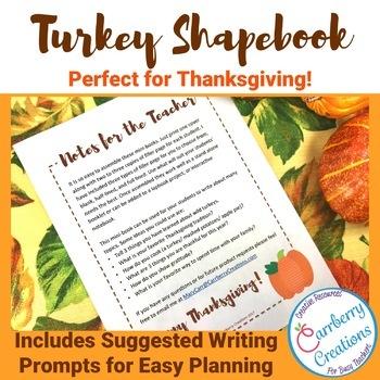 Thanksgiving Writing Mini-Book