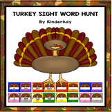 Thanksgiving Turkey Sight Word Hunt
