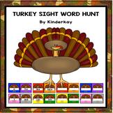 Thanksgiving Turkey Sight Word Hunt