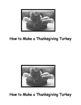 Thanksgiving Turkey Snack Book