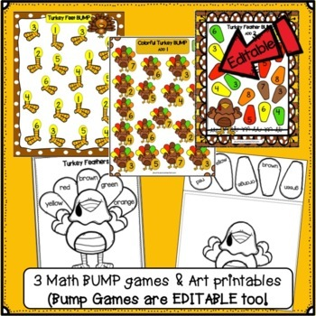Thanksgiving Song! Turkey Feathers - Shared Reading Singable & Activities
