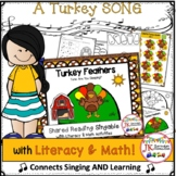 Thanksgiving Song! Turkey Feathers - Shared Reading Singab