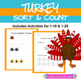 Thanksgiving: Turkey Sort and Count