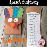 Thanksgiving Turkey Speech Craft articulation language