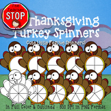 Thanksgiving Turkey Spinners