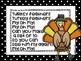 Thanksgiving Turkey Subitizing Craft (Making sets of 10)