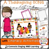 Thanksgiving Song! A Turkey Named Fred - Shared Reading Singable