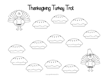 Thanksgiving Turkey Trot Gameboards